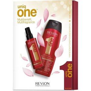 Uniq One Red Duopack 150ml Treatment + 300ml Shampoo