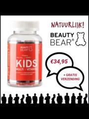 Beauty Bear Hair Vitamines Kids Vitamines, 60 Beertjes