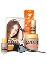 KATIVA Braziliaanse keratin smoothing straight-systeem Kit