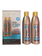 KATIVA Keratin Naverzorging Shampoo 250 ml + Conditioner 250 ml