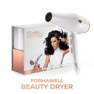 Formawell Beauty X Kendall Jenner Ionic Gold Fusion Pro Haardroger