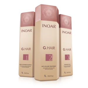 INOAR G.HAIR Keratin 3 x 1000ml