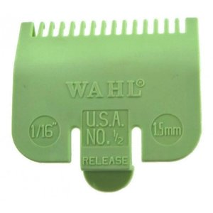 Wahl Opzetkam  Nr. 0.5 - 1,5mm Limegroen