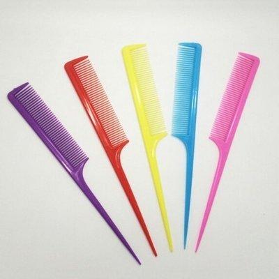 XANITALIA 12 x puntkam In Diverse Kleuren Met Plastiek Steel