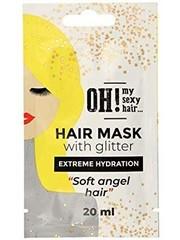 OH! My Sexy Hair Haarmasker met Glitter -  Extreme Hydratie, 20ml