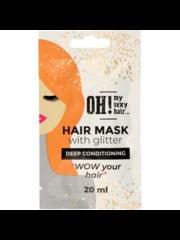 OH! My Sexy Hair Haarmasker met Glitter -  Deep Conditioning, 20ml