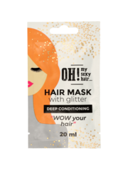 OH! My Sexy Hair Haarmasker met Glitter -  Deep Conditioning, 20ml