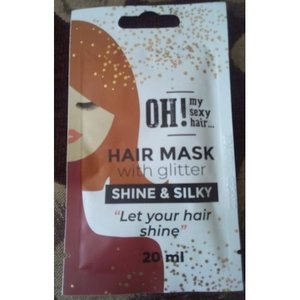 OH! My Sexy Hair Haarmasker met Glitter -  Shine And Silky, 20ml