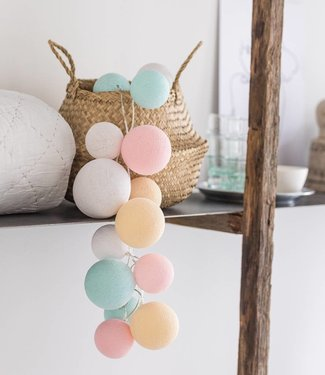 COTTON BALL LIGHTS Premium Lichterkette - Lovely Sweets