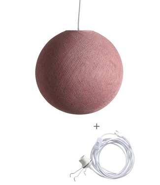 COTTON BALL LIGHTS Wandering Lampe - Dirty Rose