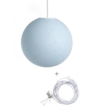 COTTON BALL LIGHTS Wandering Lampe - Light Aqua