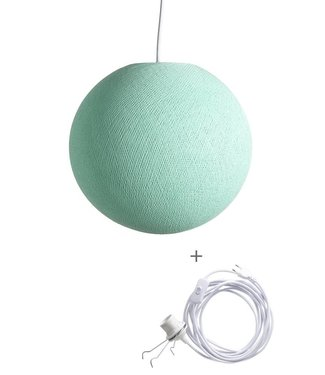 COTTON BALL LIGHTS Wandering Lamp - Mint