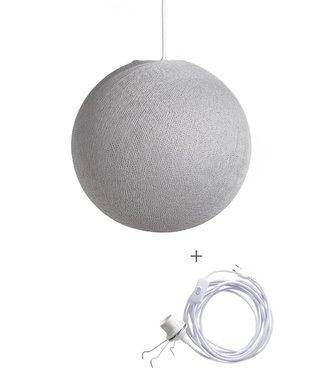 COTTON BALL LIGHTS Wandering Lampe - Stone