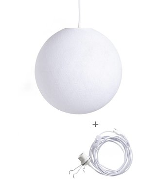 COTTON BALL LIGHTS Wandering Lampe - White