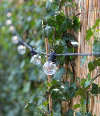 LUBANIDA Regular Patio Lights Round Bulbs Extension Kit