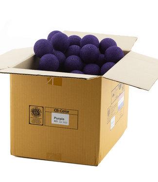 COTTON BALL LIGHTS Purple
