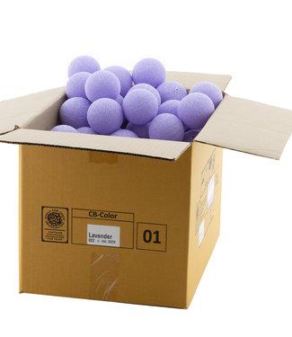COTTON BALL LIGHTS Lavender