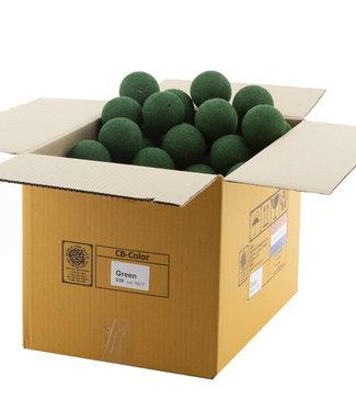 COTTON BALL LIGHTS Green