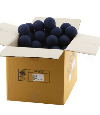 COTTON BALL LIGHTS Dark Blue