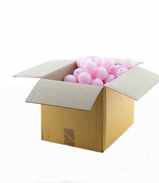 COTTON BALL LIGHTS Light Pink 6 cm