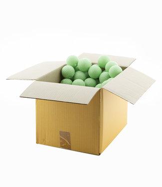 COTTON BALL LIGHTS Powder Green 6 cm