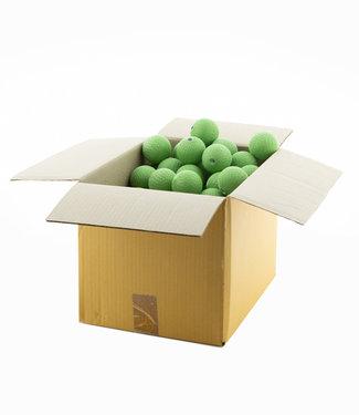 COTTON BALL LIGHTS Sage Green 6 cm