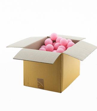 COTTON BALL LIGHTS Soft Pink 6 cm