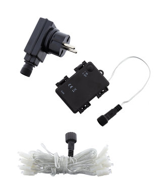 LUBANIDA Lichterkette 20L & Transformator & Batteriekasten