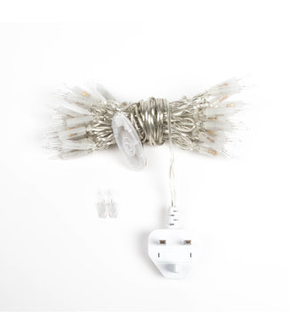 COTTON BALL LIGHTS Lichterkette Stecker - In der linie UK - 35 lampe