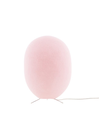 COTTON BALL LIGHTS Durian Standing Lamp - Light Pink