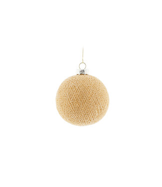COTTON BALL LIGHTS Christmas Cotton Ball - Corn