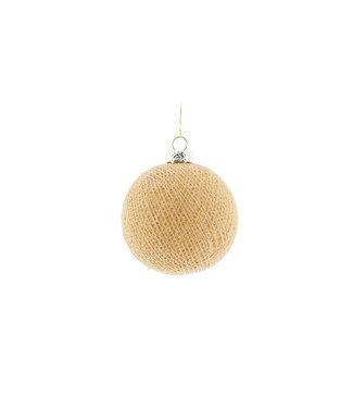 COTTON BALL LIGHTS Kerstmis Cotton Ball - Corn