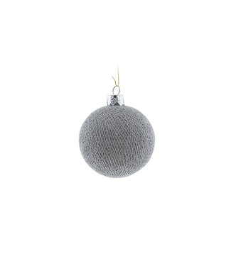 COTTON BALL LIGHTS Christmas Cotton Ball - Stone
