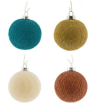COTTON BALL LIGHTS Weihnachts Cotton Balls - Indian Sparkling