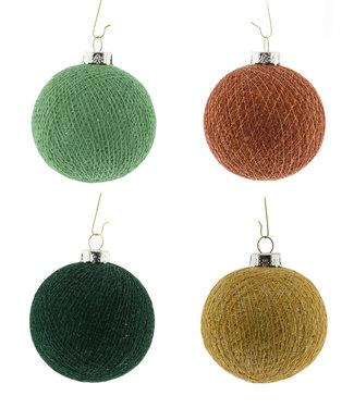 COTTON BALL LIGHTS Weihnachts Cotton Balls - Sparkling Jungle