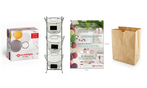 Presentatie materiaal & verpakkingen