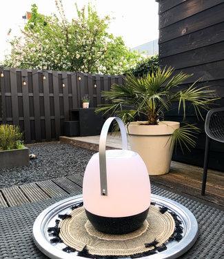 LEDR Tischlampe im Freien Pine + Lautsprecher