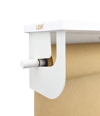 LEDR Wooden shelf - White