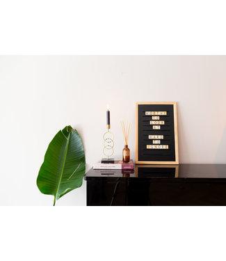 LEDR Oldschool Letterboard Zwart