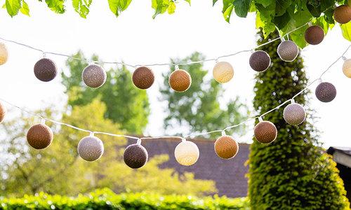 Glamping Regular Outdoor Cotton Balls