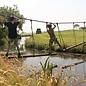 Langes Seil, 3cm dick, mit Befestigungsschlaufe und Schrumpfschlauch