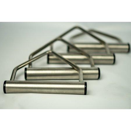 Set van 4 RVS Triangels