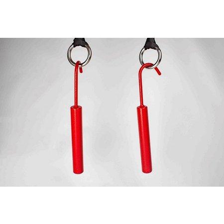 Set of 2 Ninja hooks and 4 rings