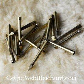 Marshal Historical Gepfeilte Schnürbandspitzens, Set von 10 Stück