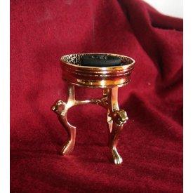 Bronze römisch Weihrauch Gericht