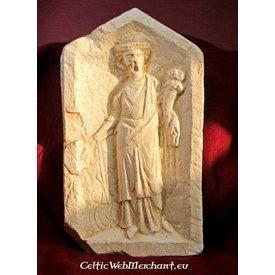 Relief Göttin Fortuna