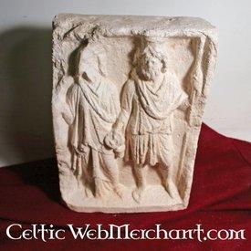 römisch Isis und Serapis Relief