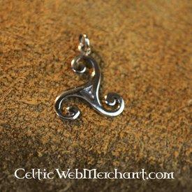 Kleine triskelion, Bronze
