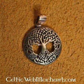 Verknotete Baum des Lebens, Bronze