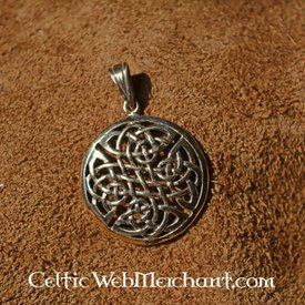 Keltische Leben Knoten Anhänger Bronze